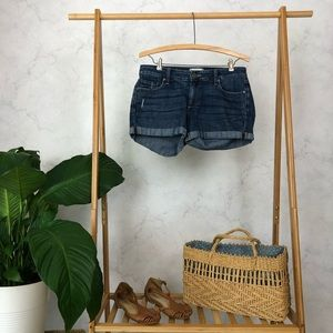 Paige Jimmy Jimmy Denim Mid Rise Short
